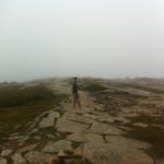 Cadillac Mountain, start of the hike