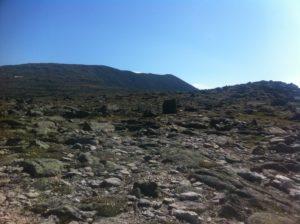 Summit of Mount Katahdin from the summit plateau