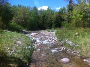 Katahdin stream at the campground