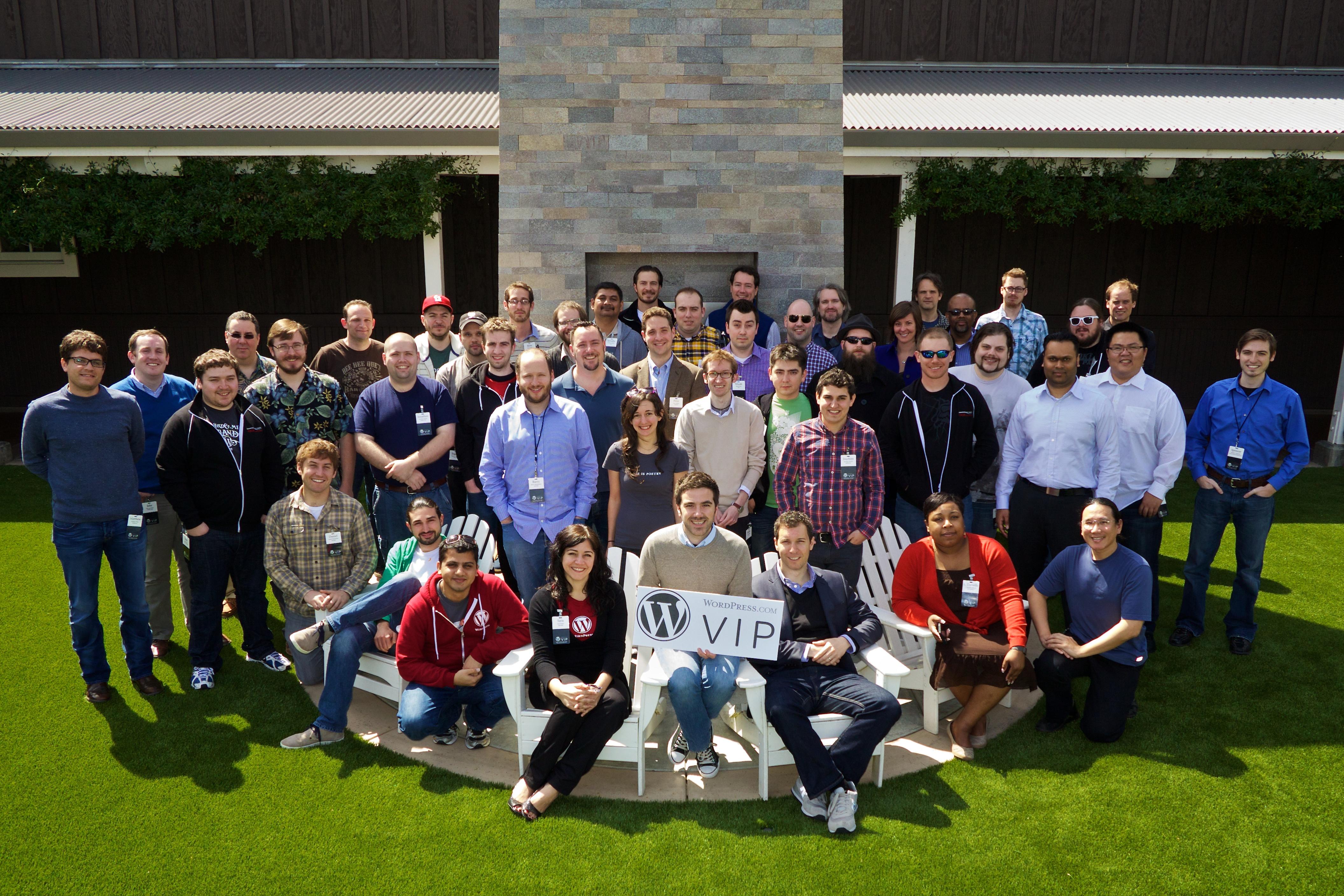 WordPress.com VIP Workshop Group Photo